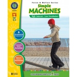 Classroom Complete Regular Education Science Book: Simple Machines, Grades - 5, 6, 7, 8