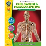 Classroom Complete Regular Education Science Book: Human Body - Cells, Skeletal, Muscular, Grades - 5, 6, 7, 8