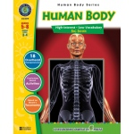 Classroom Complete Regular Education Science Book: Human Body Big Book, Grades - 5, 6, 7, 8