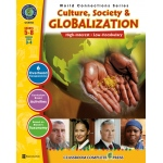 Classroom Complete Regular Education Social Studies Book: Culture, Society & Globalization, Grades - 5, 6, 7, 8