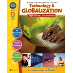 Classroom Complete Regular Education Social Studies Book: Technology & Globalization, Grades - 5, 6, 7, 8