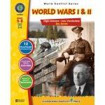 Classroom Complete Regular Education Social Studies Book: World Wars I & II Big Book, Grades - 5, 6, 7, 8