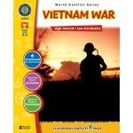 Classroom Complete Regular Education Social Studies Book: Vietnam War, Grades - 5, 6, 7, 8