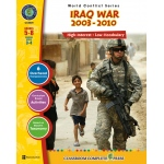 Classroom Complete Regular Education Social Studies Book: Iraq Crisis / Iraq War  (2003 - Present), Grades - 5, 6, 7, 8