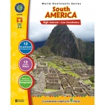 Classroom Complete Regular Education Social Studies Book: South America, Grades - 5, 6, 7, 8