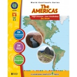 Classroom Complete Regular Education Social Studies Book: The Americas - Big Book, Grades - 5, 6, 7, 8