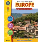 Classroom Complete Regular Education Social Studies Book: Europe, Grades - 5, 6, 7, 8