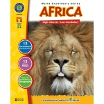 Classroom Complete Regular Education Social Studies Book: Africa, Grades - 5, 6, 7, 8