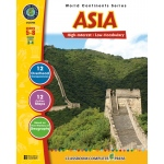 Classroom Complete Regular Education Social Studies Book: Asia, Grades - 5, 6, 7, 8