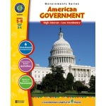 Classroom Complete Regular Education Social Studies Book: American Government, Grades - 5, 6, 7, 8