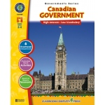 Classroom Complete Regular Education Social Studies Book: Canadian Government, Grades - 5, 6, 7, 8