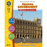Classroom Complete Regular Education Social Studies Book: Mexican Government, Grades - 5, 6, 7, 8