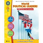 Classroom Complete Regular Education Social Studies Book: World Political Leaders, Grades - 5, 6, 7, 8