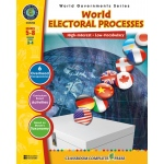 Classroom Complete Regular Education Social Studies Book: World Electoral Processes, Grades - 5, 6, 7, 8