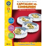 Classroom Complete Regular Education Social Studies Book: Capitalism versus Communism, Grades - 5, 6, 7, 8