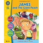 Classroom Complete Regular Education Literature Kit: James and the Giant Peach, Grades - 3, 4