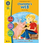 Classroom Complete Regular Education Literature Kit: Charlotte's Web, Grades - 3, 4