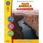 Classroom Complete Regular Education Social Studies Book: North America, Grades - 5, 6, 7, 8