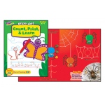 Count Print & Learn Wipe-Off Book 28pg