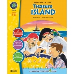 Classroom Complete Regular Education Literature Kit: Treasure Island, Grades - 7, 8