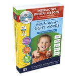 Classroom Complete IWB Software: High Frequency Sight Words, Digital Lesson Plans, Grades: PK, K, 1, 2