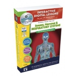 Classroom Complete IWB Software: Senses, Nervous & Respiratory Systems, Digital Lesson Plans, Grades: 3, 4, 5, 6, 7, 8