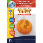 Classroom Complete IWB Software, Global Warming : Effects, Digital Lesson Plans, Grades: 3, 4, 5, 6, 7, 8
