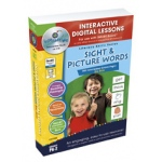Classroom Complete IWB Software: Sight & Picture Words Big Box, Digital Lesson Plans, Grades: PK, K, 1, 2