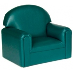 Brand New World Infant Toddler Vinyl Furniture: Teal Chair, For Ages 18-36 Months