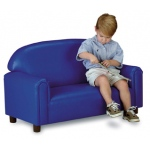 Brand New World Preschool Vinyl Furniture: Blue Sofa, For Ages 3-6 Years