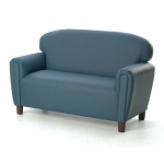 Brand New World Enviro-Child Upholstery Furniture: Blue Sofa, For Ages 3-6 Years