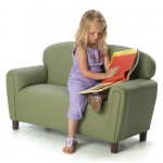 Brand New World Enviro-Child Upholstery Furniture: Sage Sofa, For Ages 3-6 Years