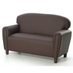Brand New World Enviro-Child Upholstery Furniture: Chocolate Sofa, For Ages 3-6 Years