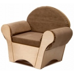 Whitney Brothers Child's Easy Chair: Tan