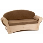 Whitney Brothers Child's Easy Sofa: Tan