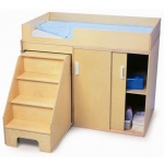 Whitney Brothers Step Up Toddler Changing Cabinet