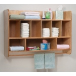 Whitney Brothers Newwave Hang On the Wall Diaper Unit