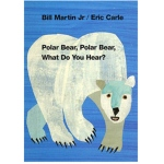 Polar Bear Polar Bear What Do You Hear Board Book