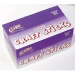 Craft Sticks 4 1/2 X 3/8 1000 Natural