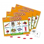 Bingo Initial Consonants Ages 4 & Up
