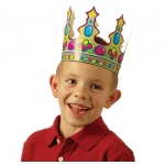 Classroom Crowns 36pk 2 Designs 24l