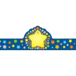 Rainbow Star Crowns 30/pk