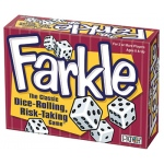 Farkle Dice Rolling Risk Taking Game