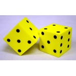 Foam Dice 2 Dot Set Of 2