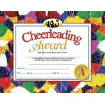 Cheerleading Award 30pk 8.5 X 11 Certificates