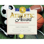 Certificates Athletic Award 30 Pk 8.5 X 11