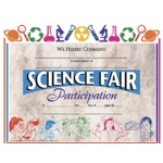 Certificates Science Fair 30/pk 8.5 X 11