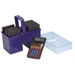 Calculator Caddy W/ 10 Student Calculators