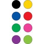 Colorful Circles Mini Stickers