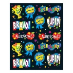 Positive Words Shape Stickers 84pk